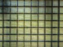 Glass block wall Royalty Free Stock Photo