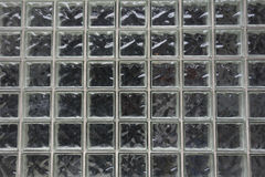 Glass Block Wall Stock Photo