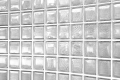 Glass block wall Stock Images