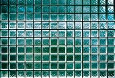 Free Glass Block Wall Background. Night Illumination Stock Photography - 47069102