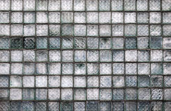 Glass block wall background Royalty Free Stock Photography
