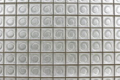 Glass block. Wall  of building Royalty Free Stock Photography