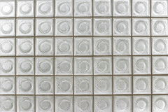 Glass block. Wall  of building Stock Images