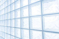 Glass block wall Royalty Free Stock Photos