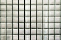Glass block wall. Background or texture Royalty Free Stock Images