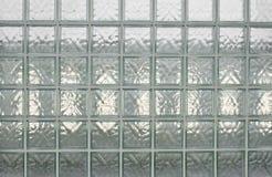 Glass block wall. Royalty Free Stock Photos