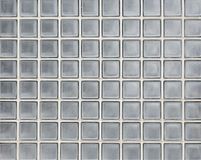 Glass block wall texture and background Stock Photos