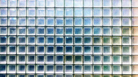 Glass block wall texture Royalty Free Stock Images