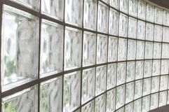 Glass block walls Royalty Free Stock Image