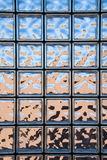 Glass block window Stock Photography