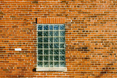 Glass Block Window Royalty Free Stock Photos