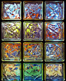Glass-blocks Stock Photo