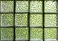 Glass blocks Stock Image