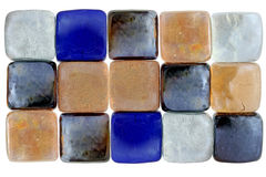 Glass blocks background Stock Image