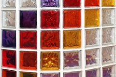 Glass blocks Royalty Free Stock Image