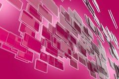 Glass Blocks Stream Stock Photo