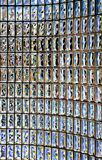 Glass blocks wall  Royalty Free Stock Image