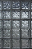 Glass blocks wall. Background texture Royalty Free Stock Images