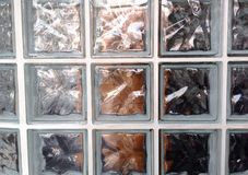 Glass blocks Royalty Free Stock Images