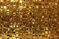 Free Glass Blocks Window With Golde Royalty Free Stock Image - 3996116