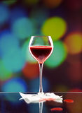 Glass of blood Royalty Free Stock Image