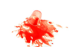 Glass blood Royalty Free Stock Photo