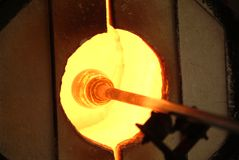 Glass Blower 3 Royalty Free Stock Photography