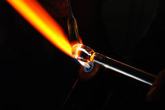 Glass-blower Stock Image