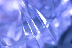 Glass blurried background. Blue glass background texture suitable for background stock photos