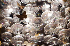 Glass bollar Royaltyfri Bild