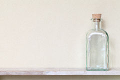 Glass bottle Royalty Free Stock Photos