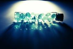 Glass bottle Stock Images
