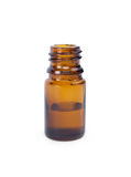 Glass bottle with liquid Royalty Free Stock Photography