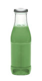Glass bottle of soda water Stock Images