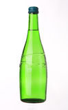 Glass bottle with water closed Stock Image