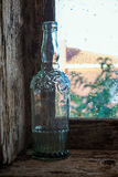 Glass bottle Royalty Free Stock Photography