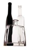 Glass bottles Stock Images
