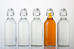 Glass Bottles Royalty Free Stock Image