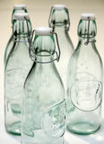 Glass bottles. Royalty Free Stock Images