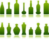 Glass bottles Stock Photography