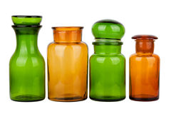 Glass Bottles Stock Image