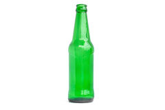Glass bottles for beer, alcohol or other beverage industry. Stock Photography