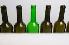 Glass bottles. Royalty Free Stock Photos