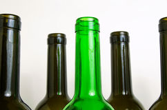 Glass bottles for industrial utilization. Stock Images