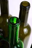 Glass bottles for industrial utilization. Royalty Free Stock Images