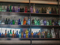 Glass Bottles Royalty Free Stock Photography