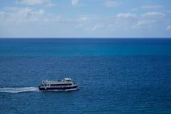 Glass bottom ferry Royalty Free Stock Photos