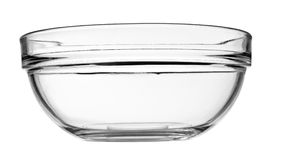 Glass bowl Stock Photography