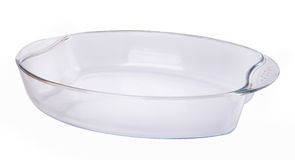 Glass bowl on a background Stock Photo