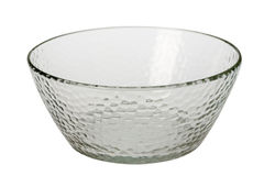 Glass bowl Royalty Free Stock Photography